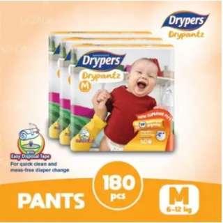 Drypers Drypantz M60 (3 pack)