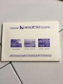 Komatsu 15 postcards