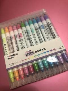MILDLINERS highlighters (12 colours)
