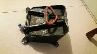 古董水警輪對講機 銻金屬 防水箱antique hk marine police weather proof wall mount metal box for speaker aboard