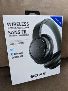 Sony MDR-770BN noise cancelling Bluetooth headphones
