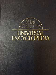 🚚 Complete 30 volumes of the 21st century universal encyclopedia