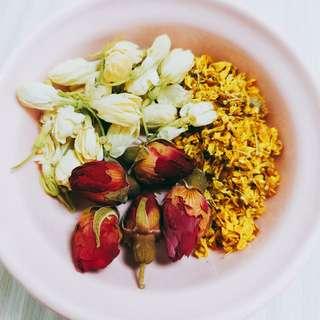 ❲胃痛調理茶💆💆桂花茉莉花玫瑰花🍵🍵❳