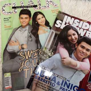 Julia Barretto & Inigo Pascual Magazine Bundle