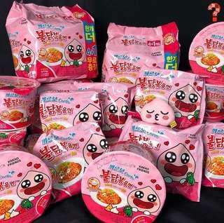 🚚 Samyang Fire Carbo Noodle APeach Edition