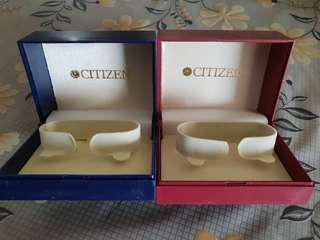 Citizen watch box