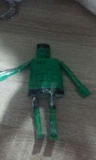 hulk homemade paper