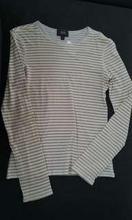 Stripes Long sleeves Shirt (#030) #maudecay