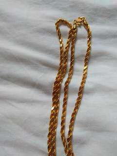 916 gold chain/ necklace