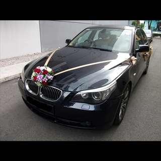 BMW 2014 535i Wedding Car Rental