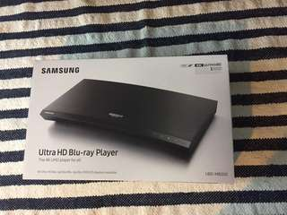 全新Samsung ultra HD blu-ray player