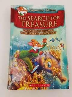 Geronimo Stilton The search for Treasure 95% new