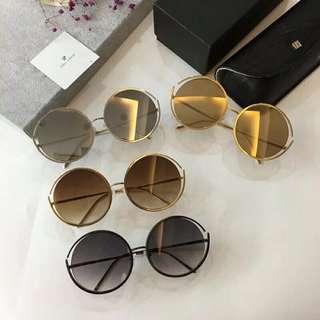 精品代購LINDA FARROW琳達法羅新款潮流太陽鏡