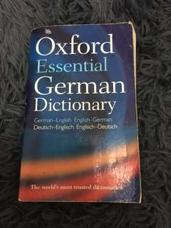 Oxford Essential German English Dictionary
