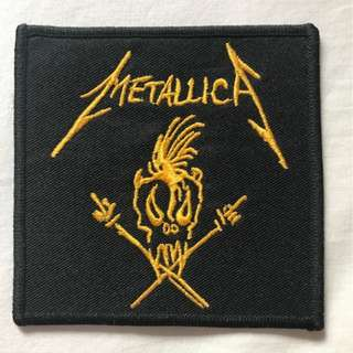 Metallica Scary Guy patch (rare)