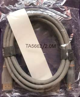 TA 5662 High Definition HDMI 4K Cable with Ethernet 2m hdmi