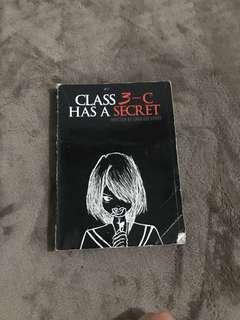 CLASS 3-C HAS A SECRET ( USED/PRELOVED BOOKS )