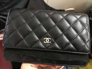 Chanel Wallet on chain WOC銀鏈