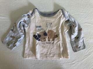 Mothercare 2 pieces baby pyjamas