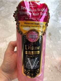Diane vitalizing shampoo