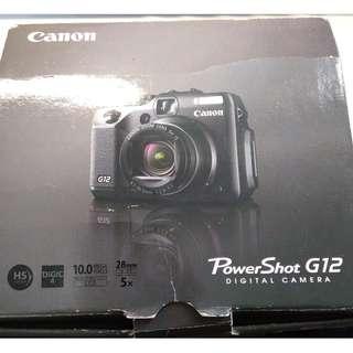 Canon G12 零件機