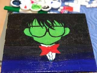 Fan Art Painting Detective Conan