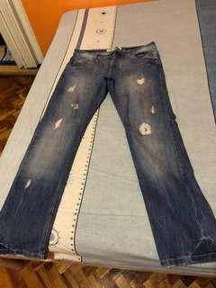 Terranova tattered jeans