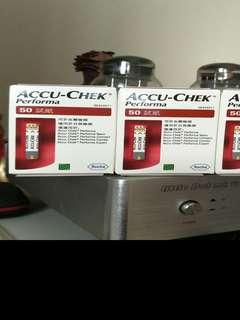 Accu-Chek Performa test strip