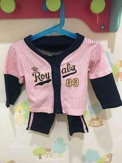 Baju baseball baby