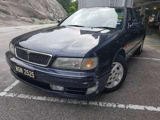 1997 Nissan Cefiro 2.0 V6 Auto