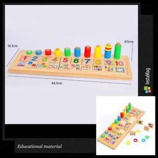 🚚 Kids Educational Toys (Mathematics) for toddlers