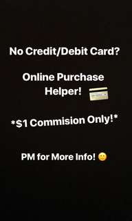 $1 Commission Online Purchase Helper