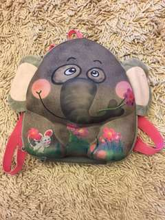 Okie dog backpack elephant