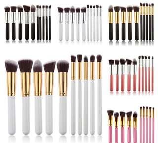 kabuki brushes (10pcs)