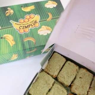 Naget pisang atau banana nugget beku untuk usaha counter