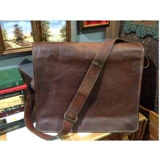 Messenger bag Leather (Big)