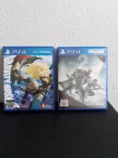 PS4 Bundle (Gravity Rush 2 & Destiny 2)