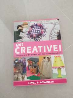 Get creative book