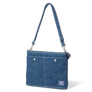 Head Porter Denim Shoulder Bag