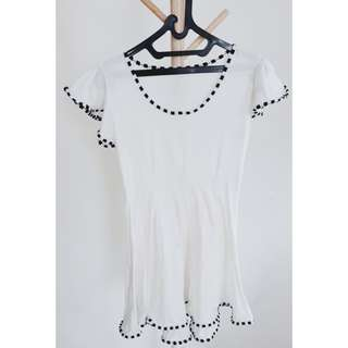 Woman White Dress