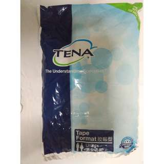 Tena Slip Plus Diapers Medium size 1 piece per packet.  Price is for 1 packet.  10 packets available.  See special offer below.