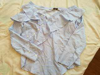 Asymmetrical Long sleeves