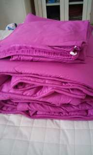 1 set bef cover sprei n sarung