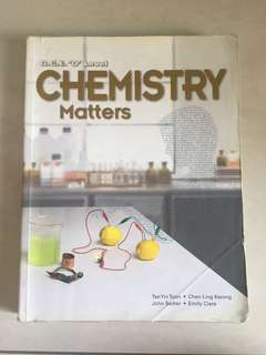 chemistry matters textbook guidebook