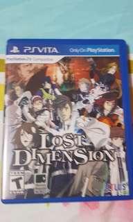 TRADES ACCEPTED!! PSVITA Lost Dimension