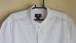Original H&M Polo White Short Sleeves