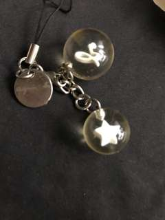日本Agnes b 吊飾keychain