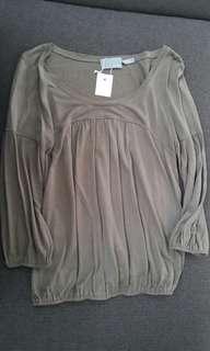 Grey Blouse (#037) #maudecay