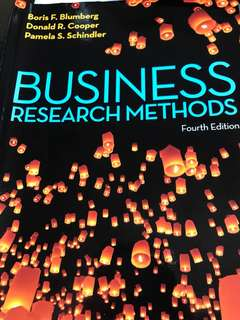 Business research method fourth edition