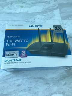 Linksys AC1900+ MU-MIMO Gigabit Router